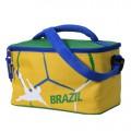 Boîte à lunch isolée Soccer Brazil