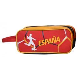 Coffre à crayons double Soccer Espana